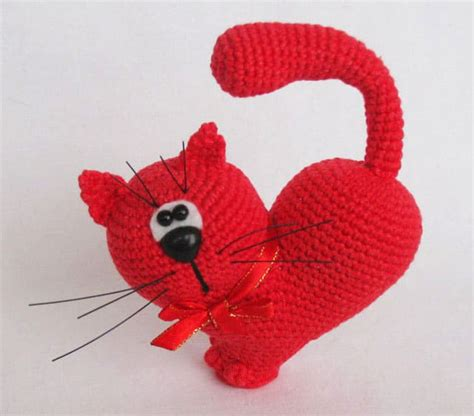 valentines crochet s day cat crochet pattern amigurumi today