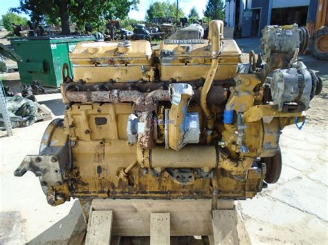 engine caterpillar cat    engine complete fully mechanical seized core pn