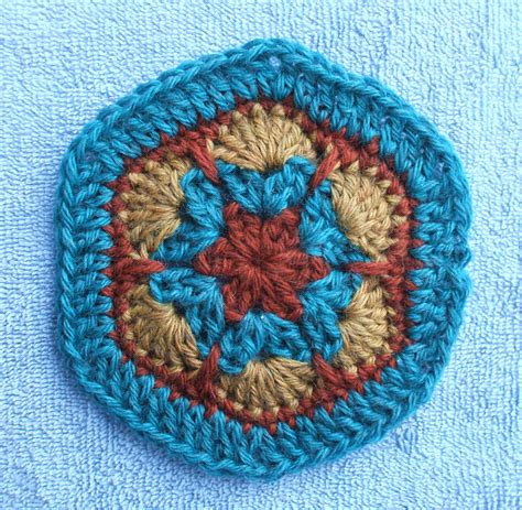 crochet pattern african flower hexagon african flower hexagon crochetbird