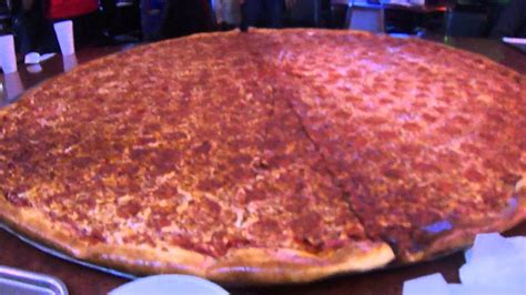 big pizza big lous pizza largest pizza