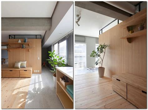 unusual l shaped apartment with no doors in japan home interior design kitchen and bathroom unusual l shaped apartment with no doors in japan home