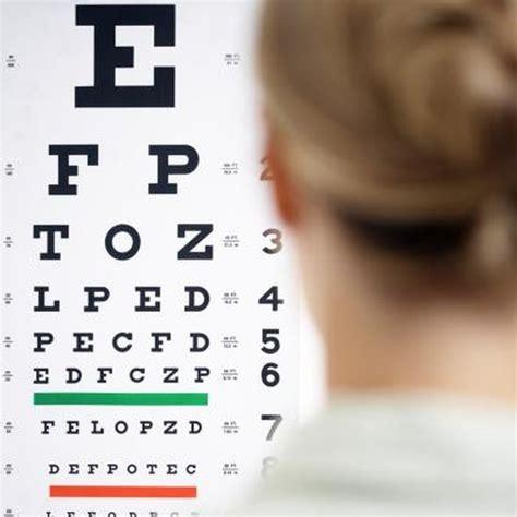 test   vision   snellen chart