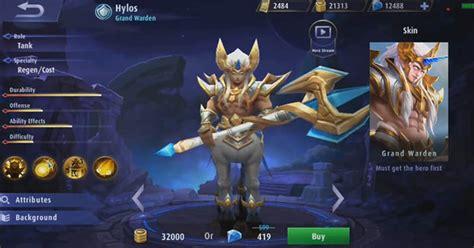 apa itu mobile legend muncul baru hylos di mobile legends apa