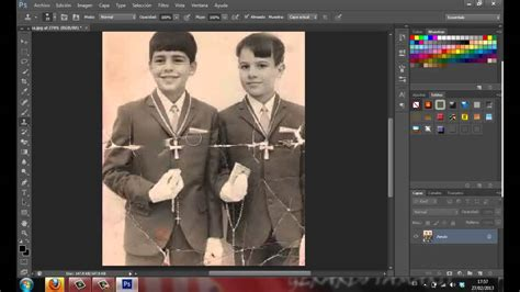 fotos antiguas para restaurar tutorialero004 photoshop cs6 como restaurar fotos