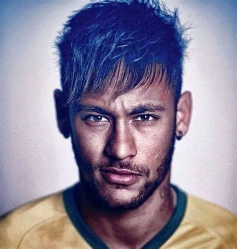 2015hear style men neymar short hairstyles world cup 2014 football players
