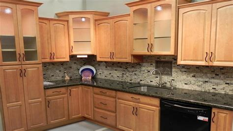 glass tile backsplash maple cabinets home modern kitchen burl maple glass backsplash maple cabinets