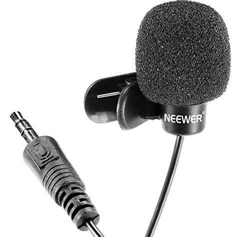 Free Clip On Mini Microphonestraight Microphonemic Mini neewer 3 5mm free computer clip on mini lapel microphone 3x lapel microphone