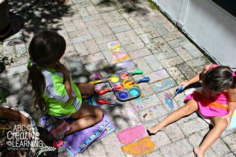 chalk paint outdoors diy outside chalk paint