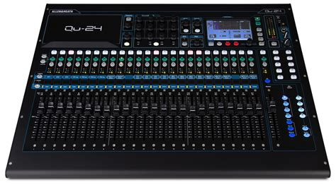 Mixer Allen Heath Qu 24 review allen heath qu 24 digital mixer ask audio