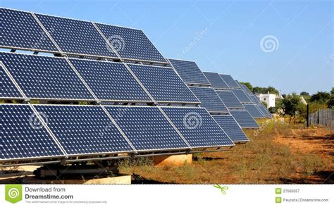 photovoltaic panels royalty free stock photography image