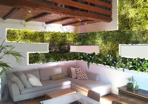parete giardino verticale la parete eco sostenibile il giardino verticale