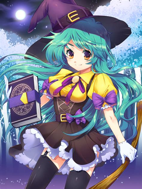 Anime Witch by Witch By Ellsat On Deviantart