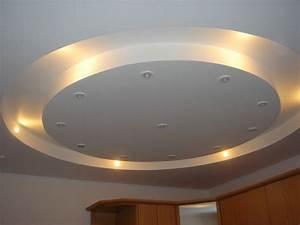 Подвесные многоуровневые потолки из гипсокартона фото