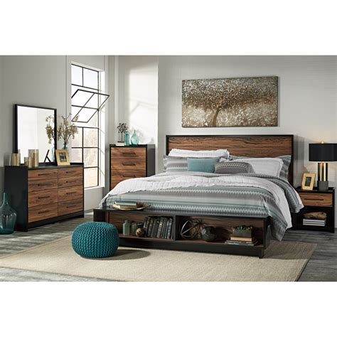 Platform Bed El Paso Signature Design By Ashley Stavani King Platform Bed W