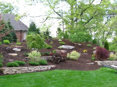 project 9 landscape design residential retaining wall midwest landscape