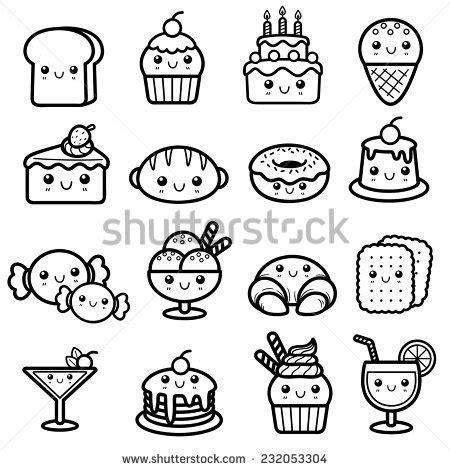 imagenes kawaii de comida para dibujar stock photos royalty free images vectors shutterstock