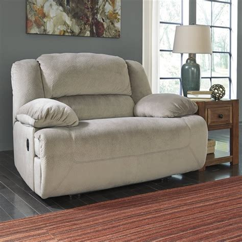 Wide Seat Recliner Chairs by Toletta Fabric Wide Seat Recliner In Granite 5670352