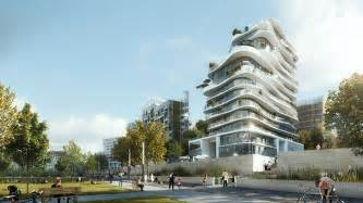 Green Building Floor Plans mad reveals plans for unic a residential building in paris