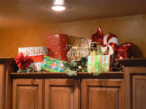 decorating for ideas christmas decorating ideas for above kitchen cabinets