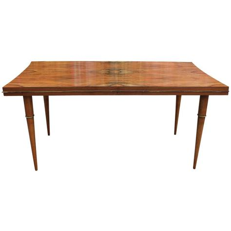 beautiful dining tables beautiful italian dining table or desk with brass accents at 1stdibs