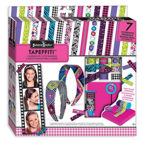 crafting kits for tapeffiti headband decorative craft kit for