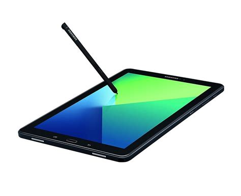 Samsung Tab A6 S Pen samsung galaxy tab a6 10 1 with s pen wifi tablet black