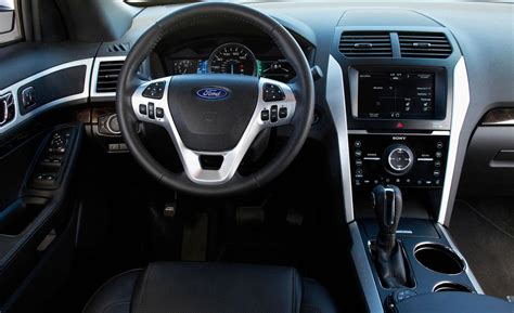 Explorer Interior by Car And Driver