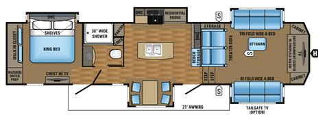jayco 5th wheel floor plans 2017 luxury fifth wheel floorplans prices jayco inc