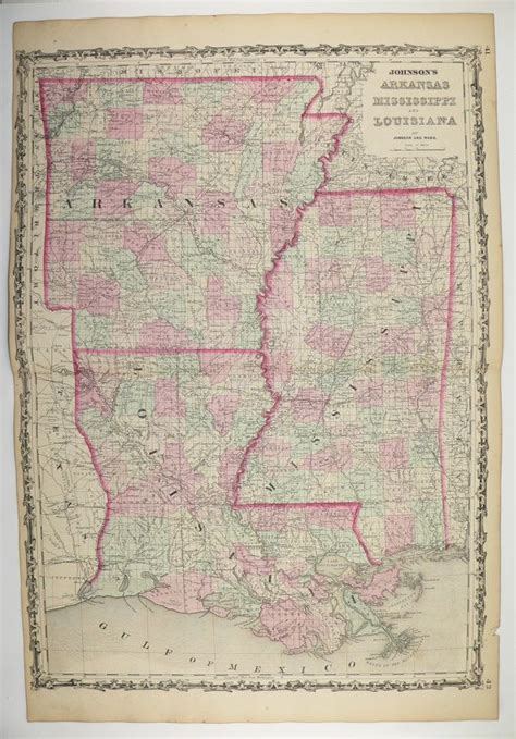 louisiana arkansas map 17 best images about maps on alabama gifts