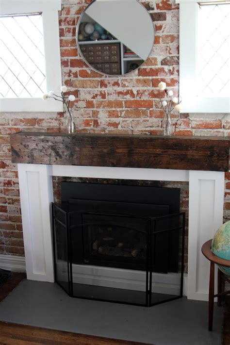 Building A Fireplace Mantel by How To Build A Fireplace Mantel