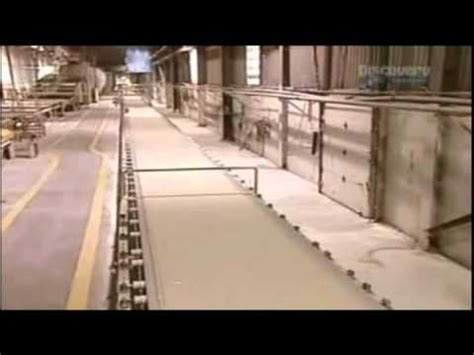 what are walls made of how gypsum board drywall is made youtube