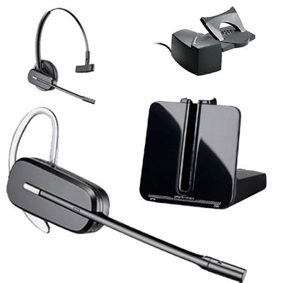 Plantronics Cs540 Convertible Wireless Headset With Wireless Headset For Desk Phone