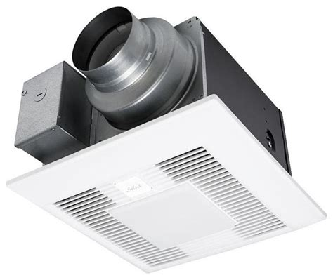 ceiling exhaust bath fan with light whisper green select 50 80 110 cfm ceiling exhaust bath