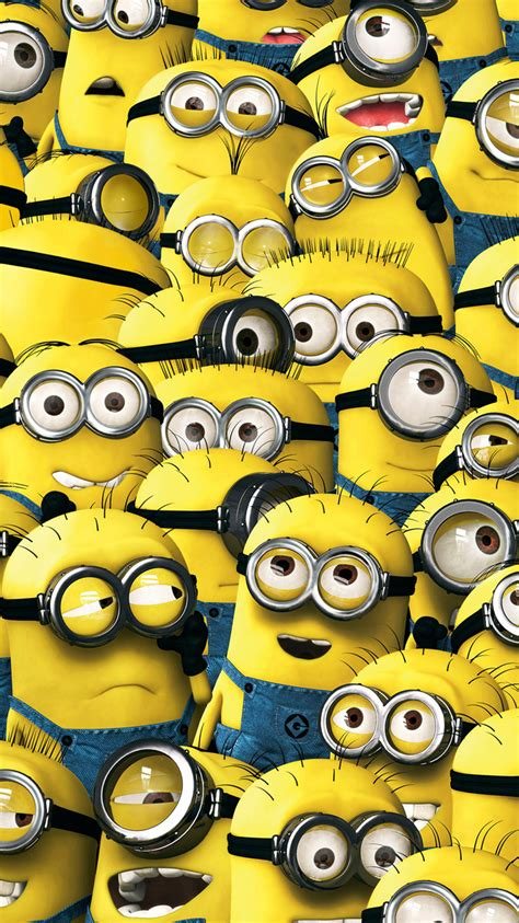 minion themes for iphone 4 minions pattern iphone wallpaper hd
