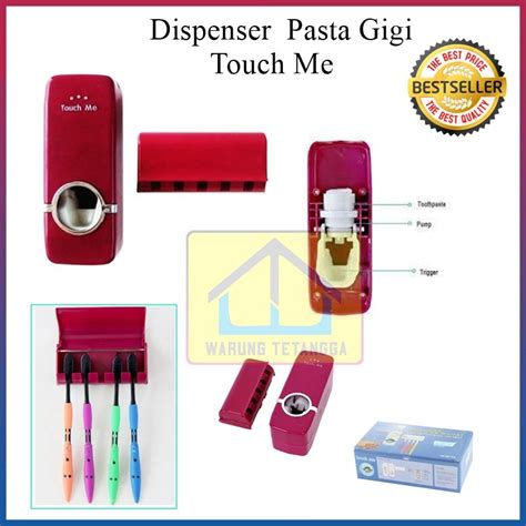 Gl222 Dispenser Odol Touch Me Dispenser Pasta Gigi Murah Dan Unik jual beli dispenser odol touch me tm 2000 i dispenser