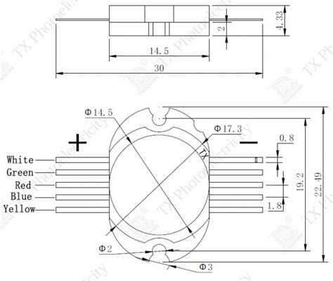 Power Resistor 30watt Werstand Resistor Bambu rgbwa multicolor led diode high power 30watt multichip led rgbw uv