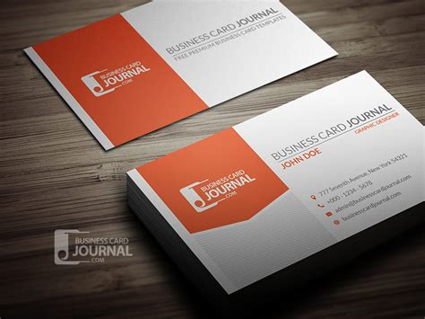 professional corporate business card template free pik psd