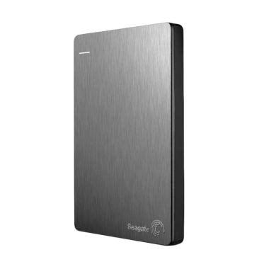 Seagate Backup Plus Slim 2tb Blue Harddisk Eksternal Free Pouch jual seagate backup plus slim silver harddisk eksternal 2tb 2 5 inch usb 3 0 harga