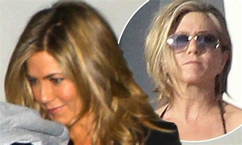 hair extensions elderly jennifer aniston got hair extensions fearing cropped locks