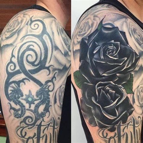 tribal tattoo cover ups before and after 60 amazing cover up tattoos pictures before and after you