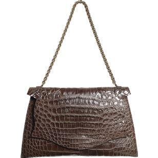 Other Designers With Their B Romanek Crocodile Rockstar Clutch by B Romanek Alligator Wow Snob Essentials