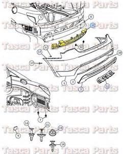 Dodge Avenger 2013 Parts Oem Mopar Rear Bumper Energy Absorber 2011 2013 Dodge