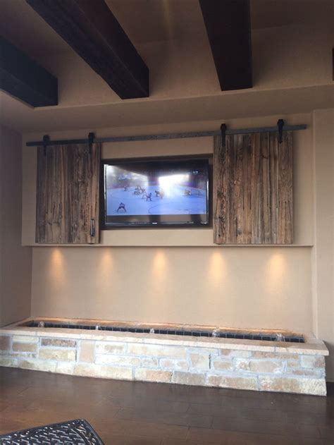 backyard tv outdoor tv with fountain below backyard ideas pinterest