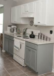 Two Tone Cabinets Kitchen Two Tone Kitchen Cabinets Rustoleum Cabinet Transformation Kit Seaside On The Bottom And Linen