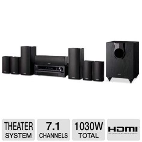 buy the onkyo ht s5500 7 1 channel home theater system at