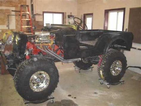 Sweety Silver M38 cj5 m38a1 jeep 1953 350 sbc dragtimes