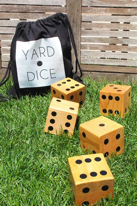 fun diy backyard games    family