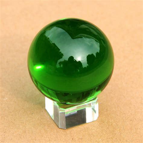 green 80mm rare natural quartz crystal ball sphere crystal