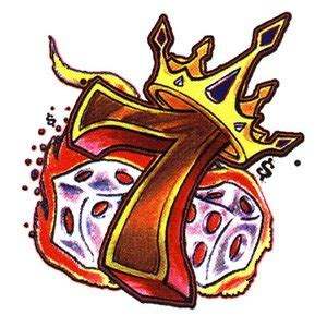 number 7 tattoo designs dice images designs