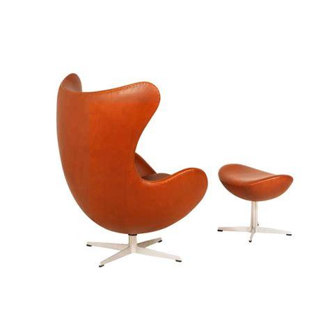 arne jacobsen egg chair ottoman arne jacobsen egg chair with ottoman for fritz hansen